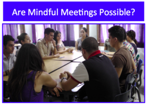 Mindful meeings shot