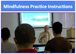 Mindfulness Practice Instructions Shot